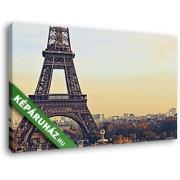 Eiffel-torony alulnézetben (40x25 cm, Vászonkép )
