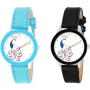 New Fashion Lifestyle Queen Analog Watch Sett Of Two For Girls and Women 034 Watch