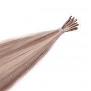 Rapunzel® Extensions Naturali Stick Hair Original Liscio M7.3/10.8 Cendre Ash Blonde Mix 50 cm