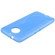 Wave Case for Motorola Moto G5S Plus - Motorola Soft Cover (Blue)