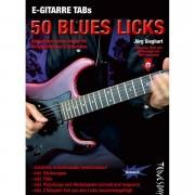 Tunesday E-Gitarre Training - 50 Blues Licks (Heft + MP3-D) Lehrbuch