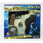 Set Pistoale Politie - 8 Capse