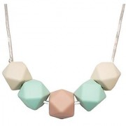 Silicone Teether Necklace for Moms - Non-toxic BPA-Free Stylish Trendy Great For Soothing Teething Babies Great Gif