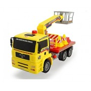 Dickie Toys Air Pump Action Cherry Picker Truck, 11'