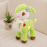 Stuffed Animal Toys Deer Doll-Judy DRE am Green Deers Soft Cartoon Animals Toy Plush Children's Christmas Deer Dolls Birthday Gift for Kid/Girlfriend 7.8""