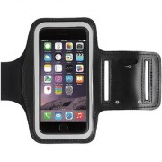 Sports Armband for All Smartphone upto 6 inch - Black Color