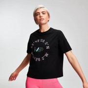 Mp T-shirt Power Graphic da donna - Nero - S