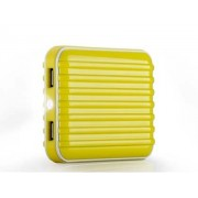 Momax iPower Go External Battery 8800mAh with Dual USB Sockets and LED Light - Samsung Power Bank (Canary Yellow)