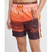 Superdry State Volley Badeshorts M orange