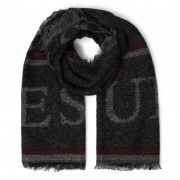 Fular GUESS - Not Coordinated Scarves AM8560 WOL03 BLA