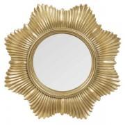 Maisons du monde Specchio sole rotondo dorato, d. 20 cm