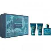 Versace Eros Комплект (EDT 50ml + AS Balm 50ml + SG 50ml) за Мъже