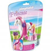 Jucarie PLAYMOBIL Princess Rosalie with Horse