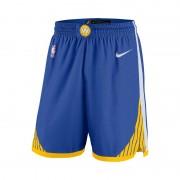 Short NBA Golden State Warriors Icon Edition Swingman Nike pour Homme - Bleu