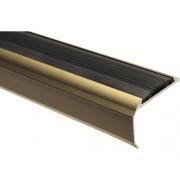 Protectie treapta aluminiu 1000x39x26,5 mm bronz
