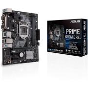 Asus PRIME H310M-D R2.0 - Moederbord - micro ATX - LGA1151 Socket - H310 - USB 3.1 Gen 1 - Gigabit LAN