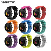 XBERSTAR Replacement Watchband Strap for Suunto Spartan Sport Series Multisport GPS Watch Silicone Wrist Band for SPARTAN