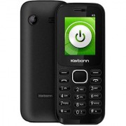 Karbonn K5 Jumbo Grey With 1800mAh Battery