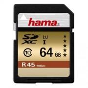 Card Hama SDXC 64GB clasa 10