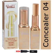 Glam21 Perfecting Stick Waterproof Concealer-CL1014SQR-04 With Free Adbeni kajal Worth Rs.125/