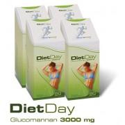 Diet Day Glucomannan 3000mg 4 doboz