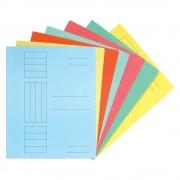 Dosar cu sina, carton color, 230 gr/mp, albastru