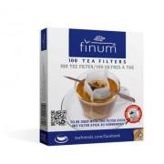 Finum filtry do herbaty 100 szt. + patyczek