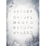 Solhem Abc print 50 x 70 cm, mrs. mighetto