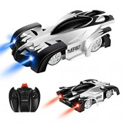 Maeffort Remote Control Car, Kid Toys for Boys Girls, Dual Mode 360Rotating Stunt Wall Climbing Car with Remote Control, Head and Rear LED Lights, Girl and Boy Gifts
