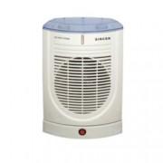 Вентилаторна печка Singer SFH 27 AO, 2 степени, механично управление, защита от прегряване, светлинен индикатор, функция автоматично завъртане, 2000W, бяла