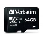 Micro SDXC Card 64GB Class 10 w/adaptor