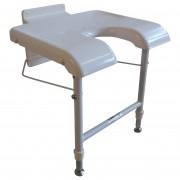 Väggmonterad badstol
