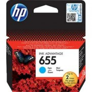 HP 655 Cyan Ink Cartridge - CZ110AE