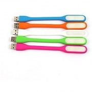 Vin Combo of USB Led Light Pack Of 5 (Assorted Colors)