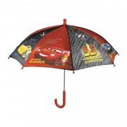 Perletti paraplu Disney Cars 66 cm rood