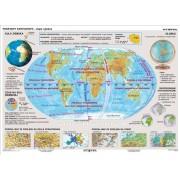 Podstawy kartografii - plansza dydaktyczna
