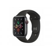 Apple Watch Series 5 Gps + Cellular, 44mm Aluminium, Gwiezdna Szarość Z Czarnym Paskiem