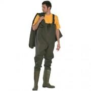 Munkavédelmi védőnadrág + csizma, saválló_45