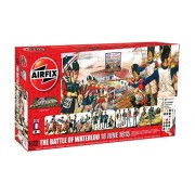 Airfix A50174 Battle of Waterloo 1:72 Military Diorama Plastic Model Gift Set