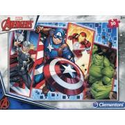 Genérico Marvel Avengers Supercolor Puzzle 33,5 x 23,5cm