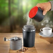 Cafflano Klassik All-in-One-Kaffeebereiter, schwarz