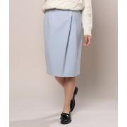 ダブルクロスタックタイトスカート
