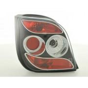 FK-Automotive fanale posteriore Design per Ford Fiesta 3-porte (tipo MK3) anno di costr. 92-95, nero
