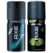 AXE Deo Deodorants Fragrances Body Spray For Men - Combo Pack Of 2 Pcs
