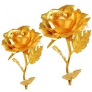 Priyankish Rose Gold Artificial Stems - Pack of 2