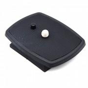 Plato de liberacion rapida plastico para Velbon QB-4W - negro