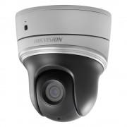 Camera mini PTZ IP Wireless Hikvision DS-2DE2204IW-DE3/W 2MP, 4x zoom optic, IR 30m, PoE, slot card, intrari / iesiri audio si alarma (Hikvision)