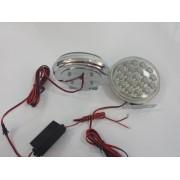 Proiectoare LED DRL 107B 20 leduri / proiector ManiaCars