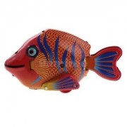 Alcoa Prime Retro Wind Up Fish with Key Clockwork Metal Tinplate Toys Collectible Gifts