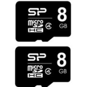 Silicon Power 8 GB MicroSD Card Class 4 Memory Card